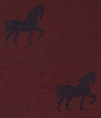 Wine Horse Wool Jacket