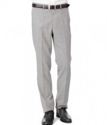 Essential Light Gray Wool Pants