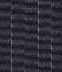 Chalkstripe Wool Dark Blue Jacket