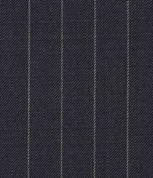 Chalkstripe Wool Dark Blue Pants