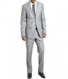 Essential Light Gray Wool Suit (Pre-Order)
