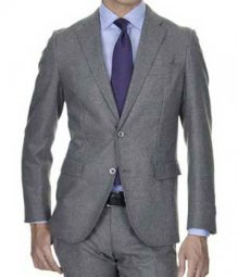 Essential Mid Charcoal Wool Jacket