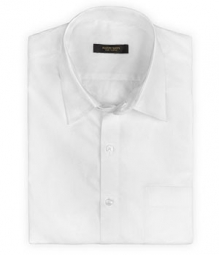 White Formal Cotton Shirt