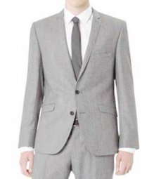 Essential Light Gray Wool Jacket