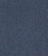 Showman Blue Herringbone Tweed Suit