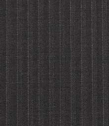 French Dark Gray Pinstripe Wool Suit